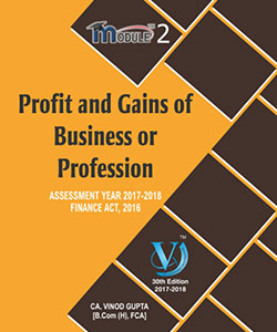 Profit and Gains of business or Profession (Module-II)