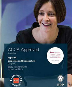 Skills Level - F4 Corporate and Business Law
