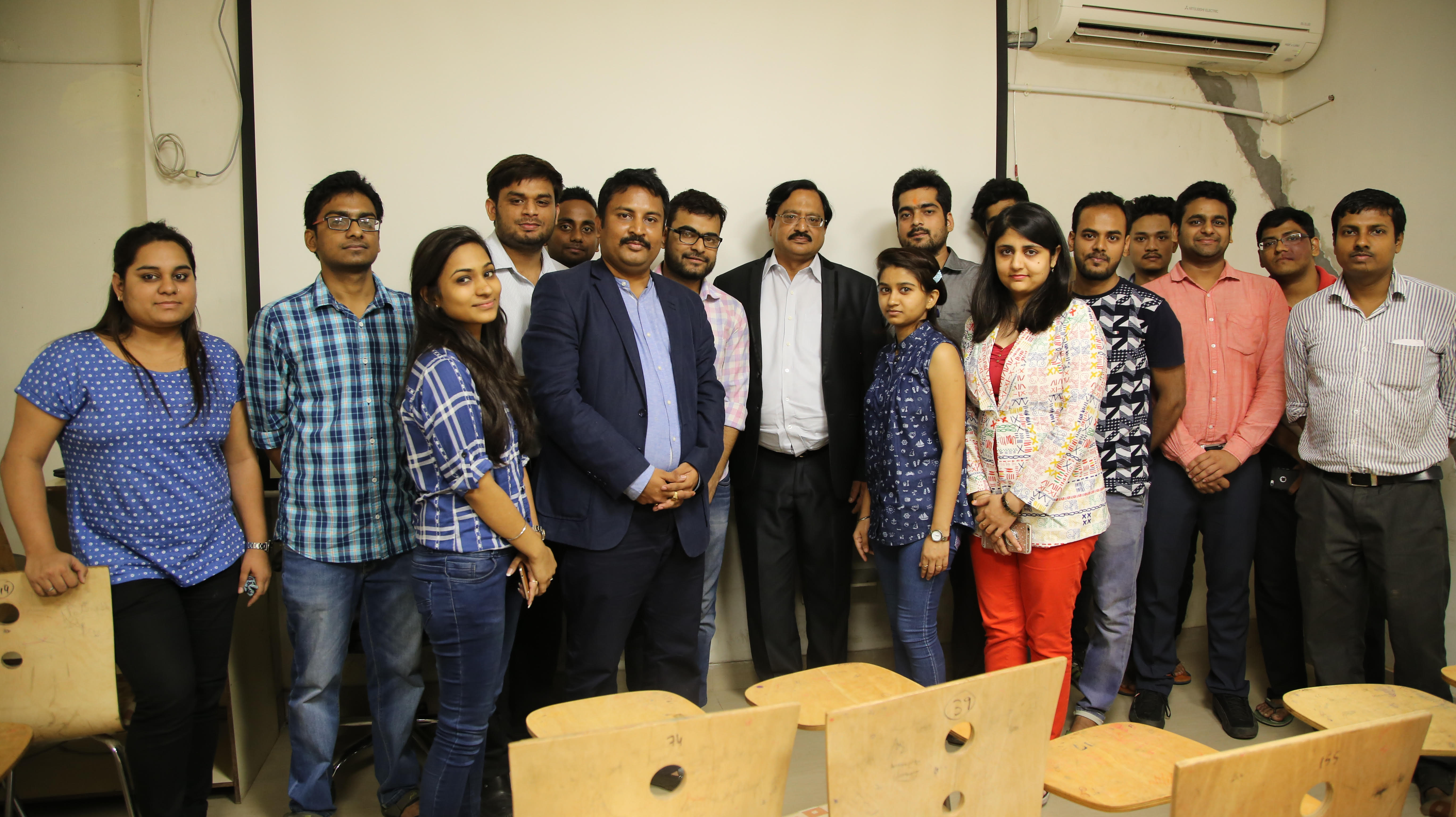Vg sir with BACA Students