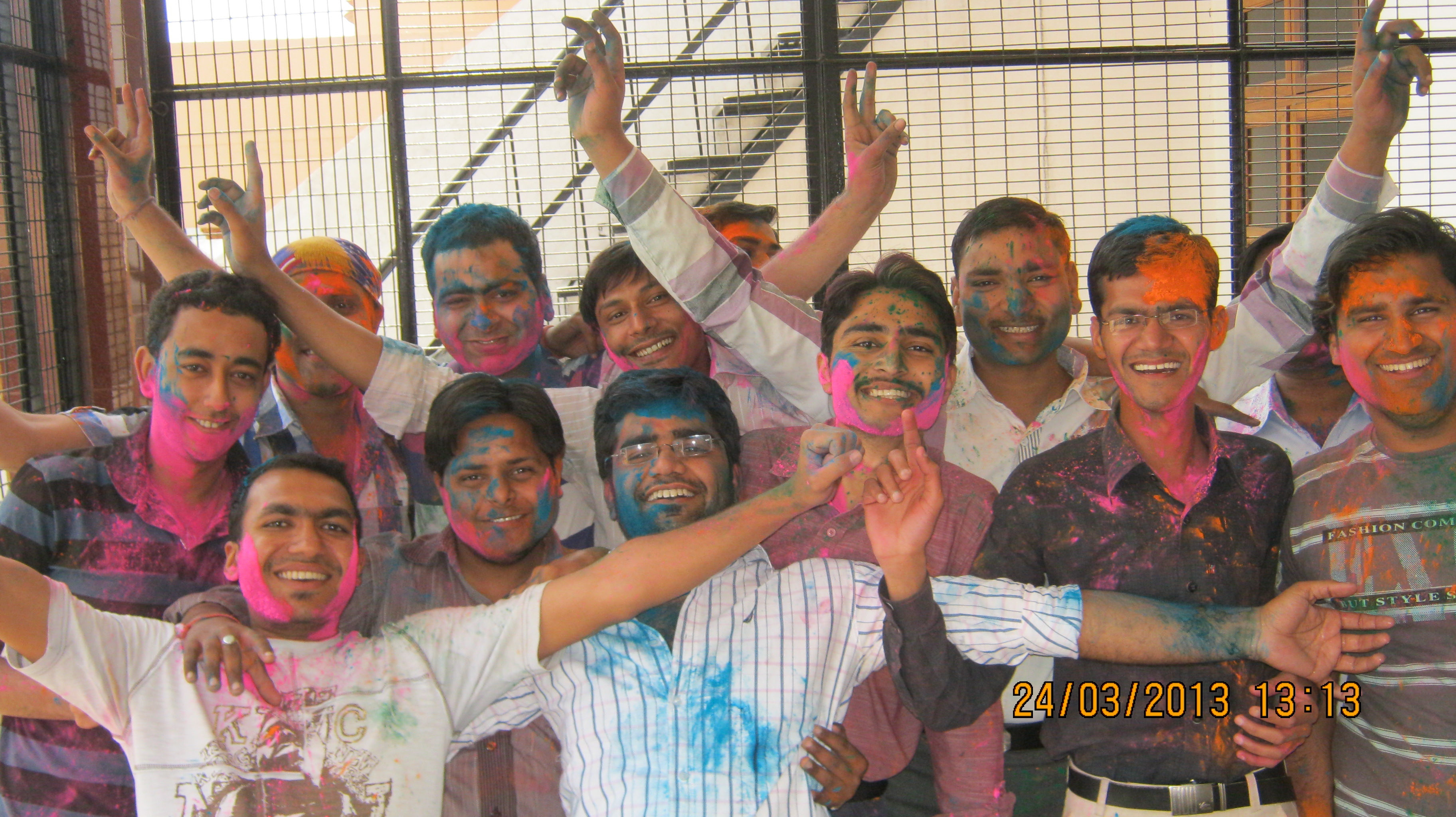 batch completion follow by holi